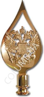 наконечник с гербом России
