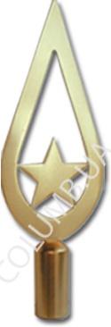 """наконечник """"капля со звездой"""""""